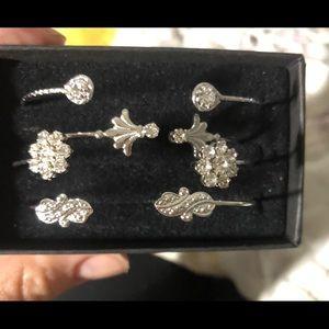 Sterling silver bracelets by Alex and Ani